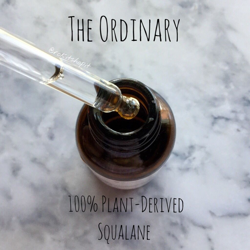 100% Plant-Derived Squalane by the ordinary #8