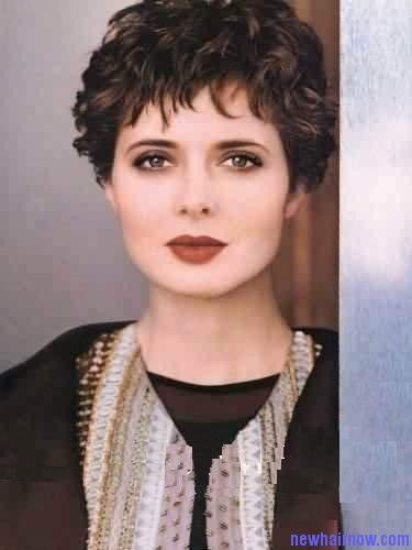 Isabella Rossellini Hairstyle New Hair Now Pixie