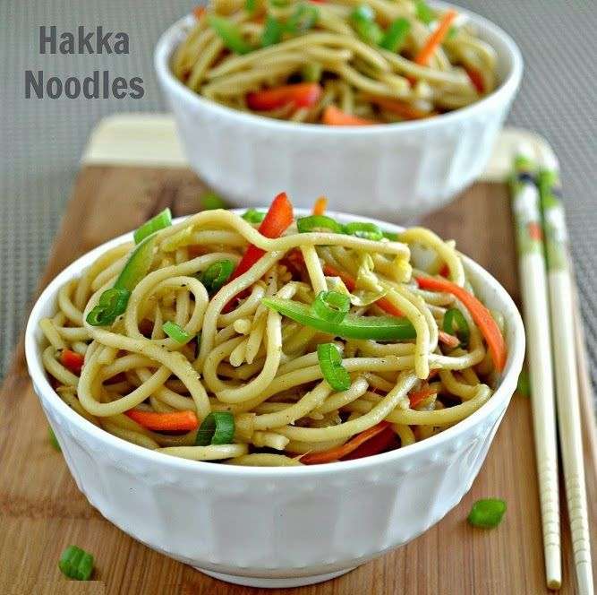 Hakka noodles is very tasty dish and it enriched with healthy vegetables. This dish is full of protein, vitamins, iron and fat. The fast is very much high in Hakka noodles so avoid eating it daily.