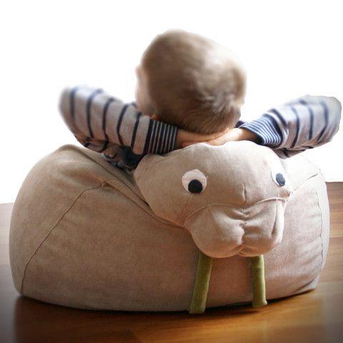 Il Saccotto - Triky - walrus bean bag www.bmini.be