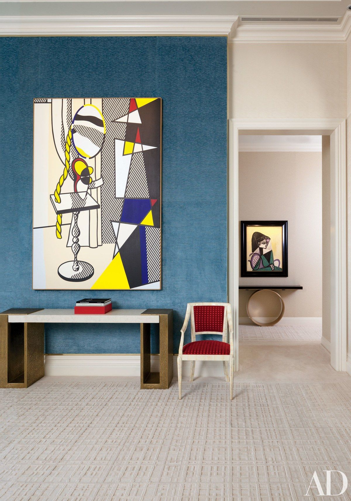 Living Room International Painting Inspiration In The Living Room Of Steve Wynn And Wife Andrea's Manhattan . Design Ideas