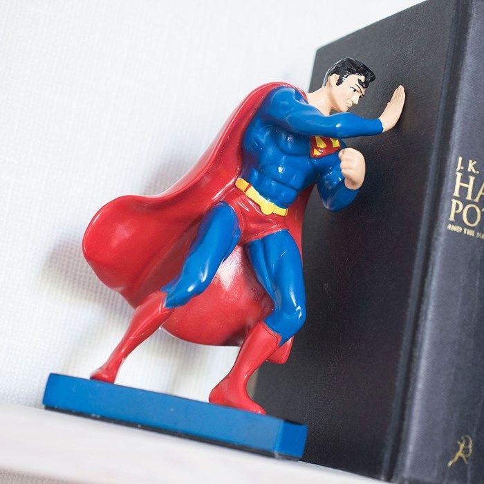 Superman Ceramic Bookends | GettingPersonal.co.uk