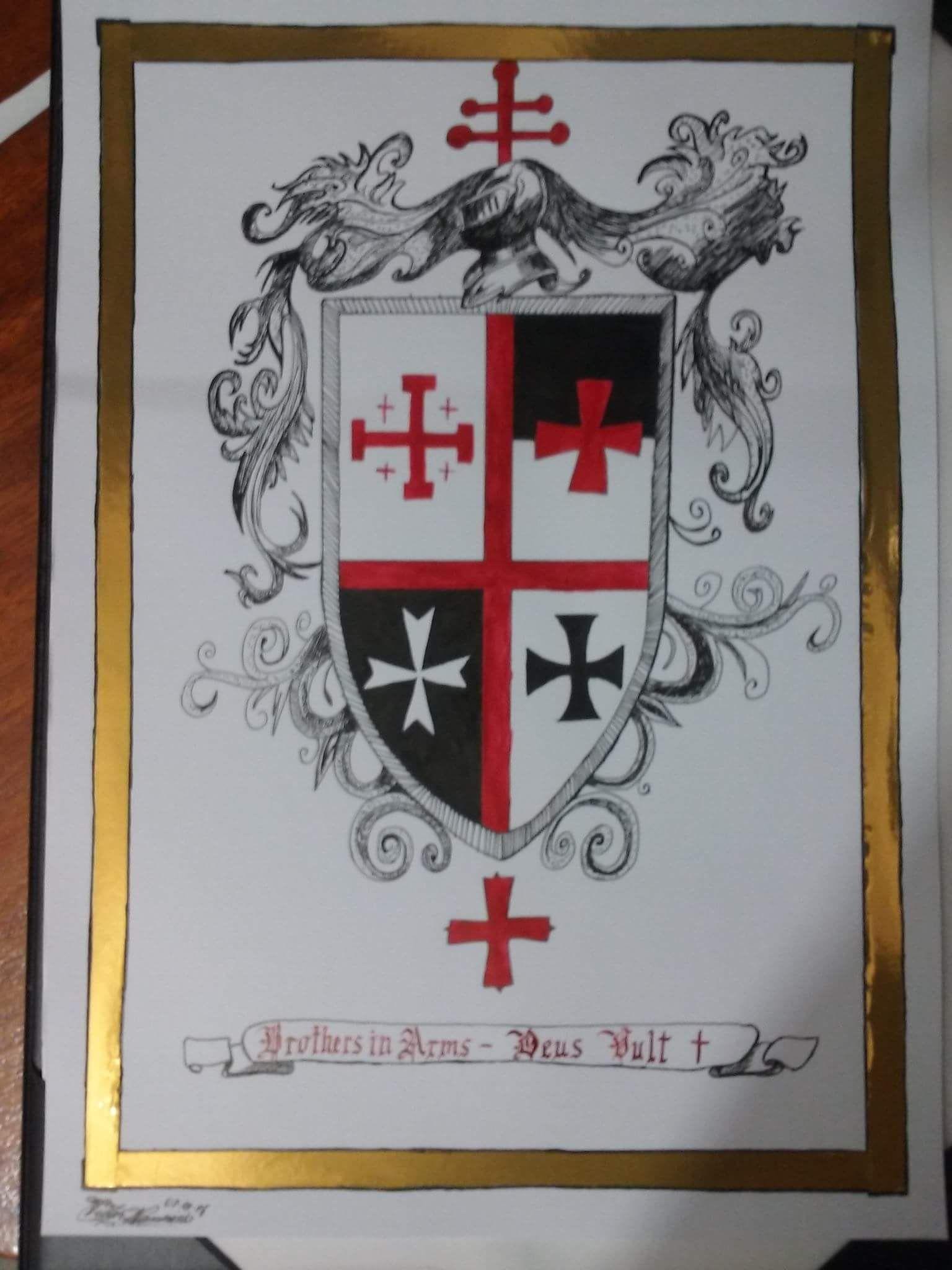Holy orders Coat of arms - Brasão de ordens Sacras