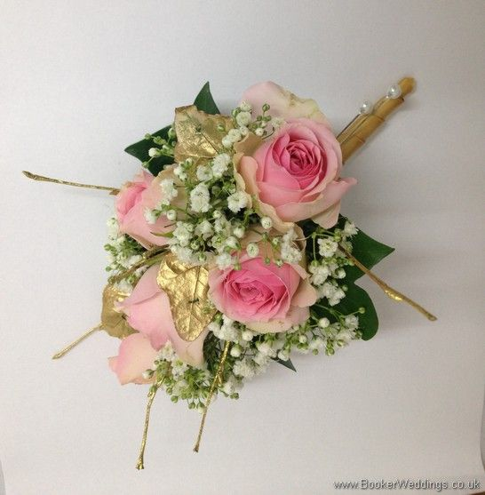 ... Gypsophila and Gold Leaves and Twigs Wedding Flowers Liverpool, Merseyside, Bridal Florist, Booker Flowers and Gifts, Booker Weddings