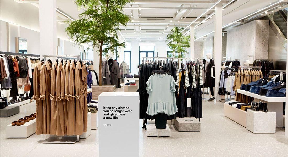 As Grandes Redes De Fast Fashion Podem Ser Sustentaveis Stylo Urbano Sustentabilidade Sustentavel Z Design De Loja Fast Fashion Vitrine De Loja De Roupas