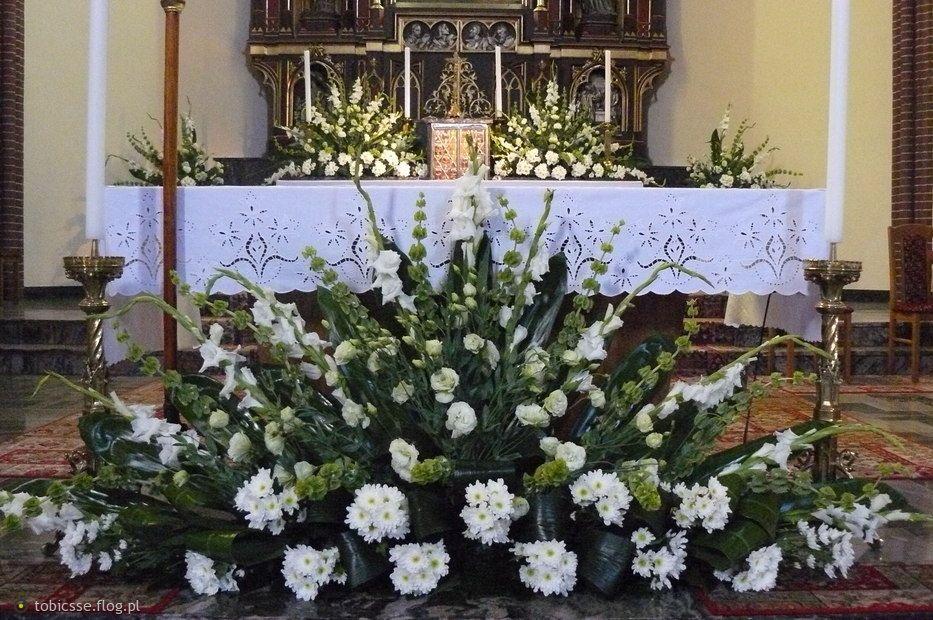 Dekoracje ślubne Kościoła Z Gipsówki Szukaj W Google