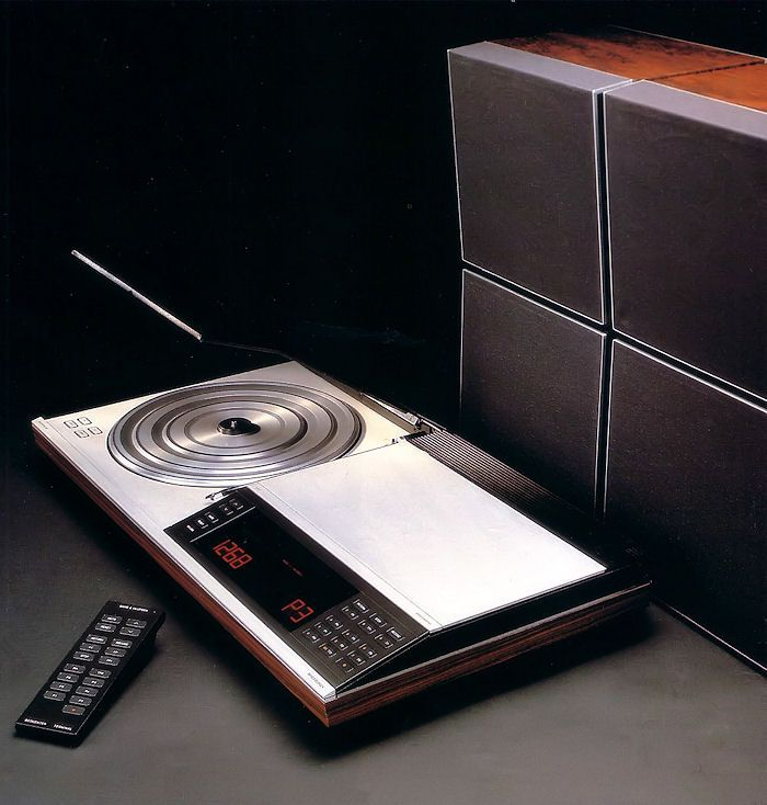"Retro Home Theater Design: Bang & Olufsen ""Beosystem 7007"""