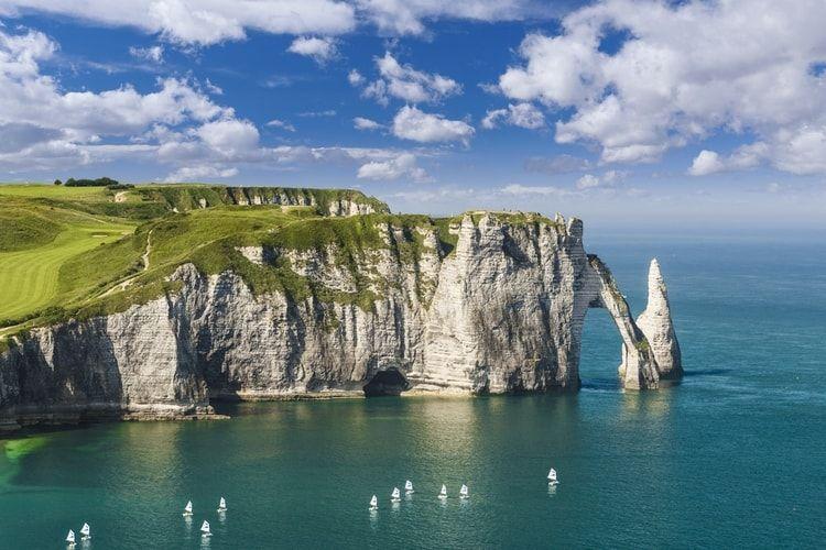 Les 100 Plus Beaux Paysages De France Most Beautiful Beaches Normandy Beach Beautiful Beaches