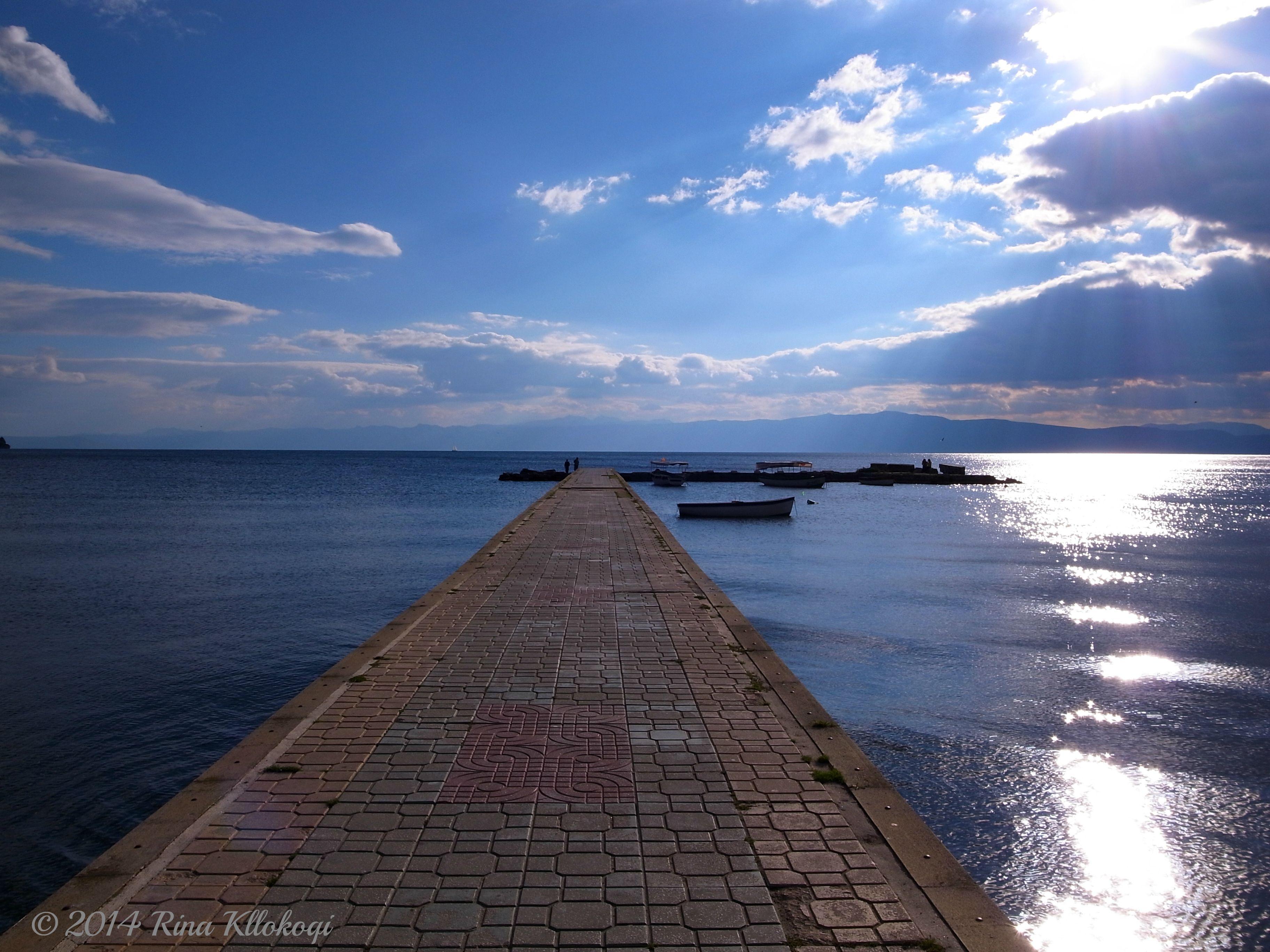 Ohrid Lake, Macedonia.                                       © 2014 Rina Kllokoqi