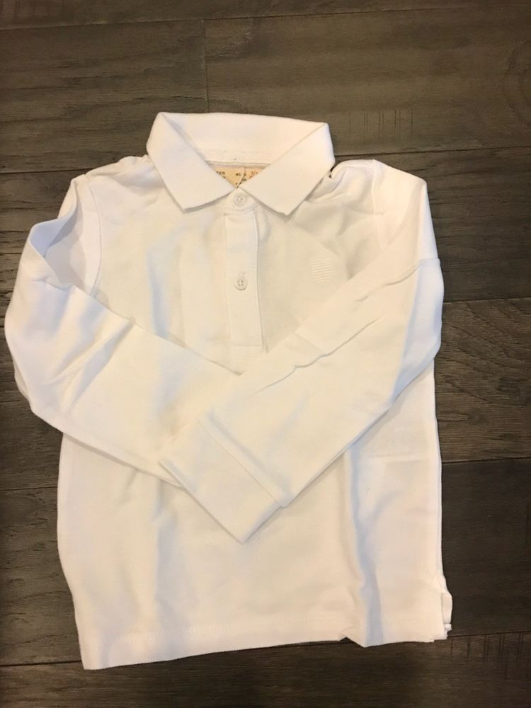 876ac0e8b 2 NWT Zara Baby Boy Basic Polo Shirts White Size 3/4 #fashion ...