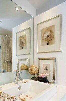 cuadros para cuartos de baño lindo | cuadros baño | Pinterest