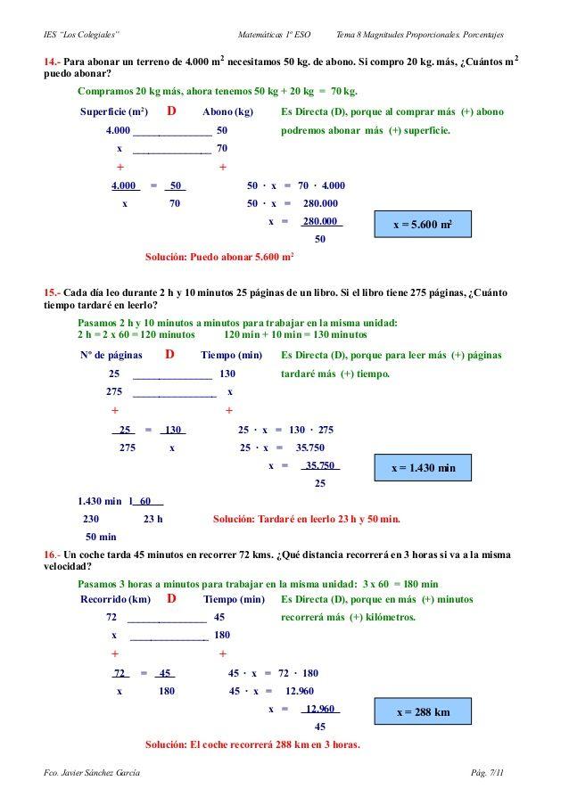 Problemas De Regla De Tres Simple Formula Map Map Screenshot