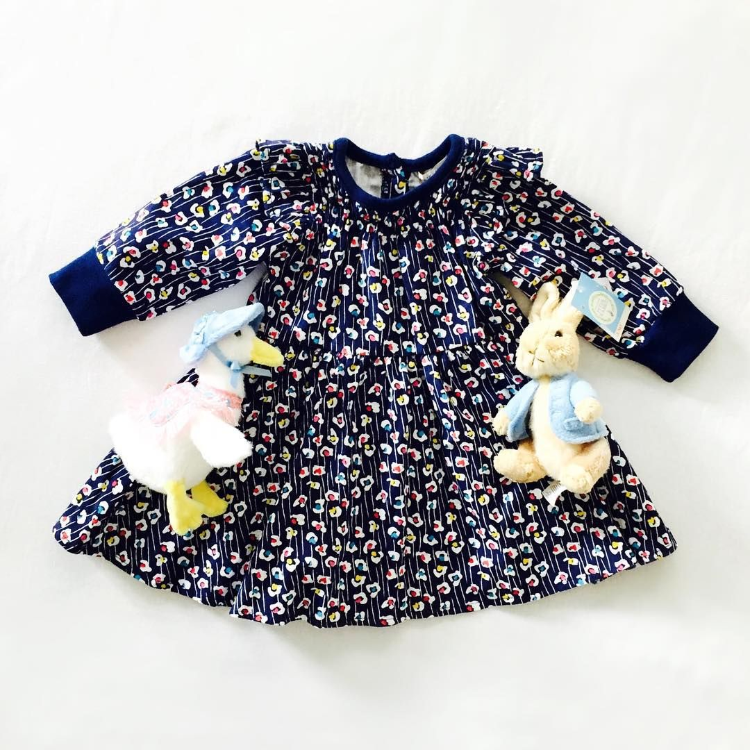 This sweet little dress matches perfectly with our Peter Rabbit friends. All available in store now.  #sparrowcouture #peterrabbit