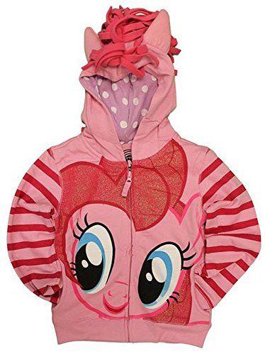 My Little Pony Pinkie Pie Girls Costume Hoodie