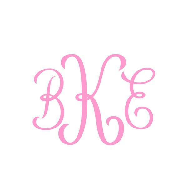 Download Monogram Font svg , Cricut Fonts, Silhouette Cameo font ...