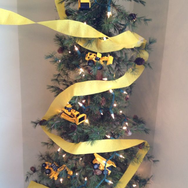Construction Themed Party Tree Construction Theme Party Construction Party Party Themes