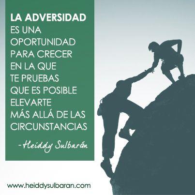 #elconsejodehoy Para superar las dificultades, recuerda... #HeiddySulbaran #LifeCoach