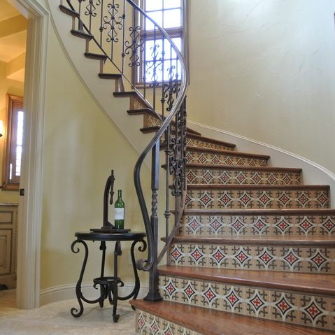 1910 colonial homes, furniture and more | Elegant Semi Spiral ...