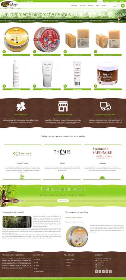 Zenzishop : boutique en ligne de produits bio   Saponaire