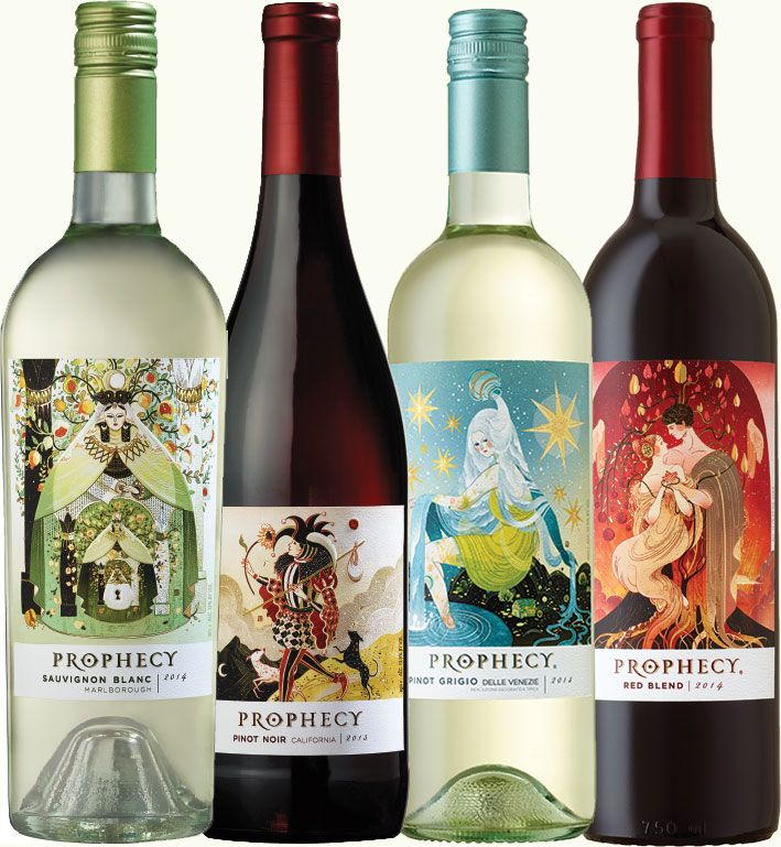 Tarot Card Wine Prophecy Wines Sauvignon Blanc Pinot