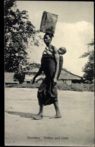 Mombasa Mother And Chld East Africa Africa Mother And Child
