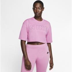 Photo of Women's Nike Air Crop Design T-Shirt – Pink Nike