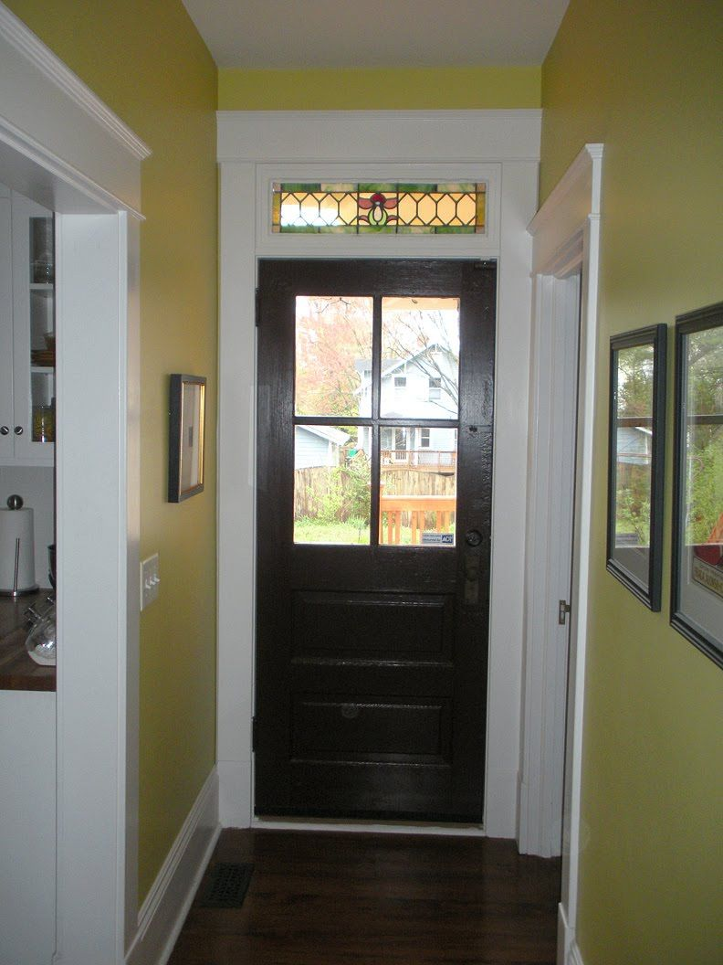 After Pics Glass Closet Doors Transom Windows Stained Glass Door