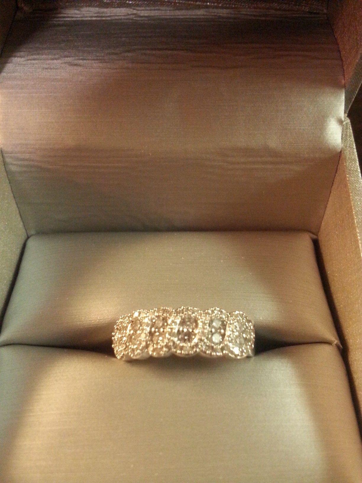 My Birthday Gift Right Hand Ring 14k Gold Diamond Zales