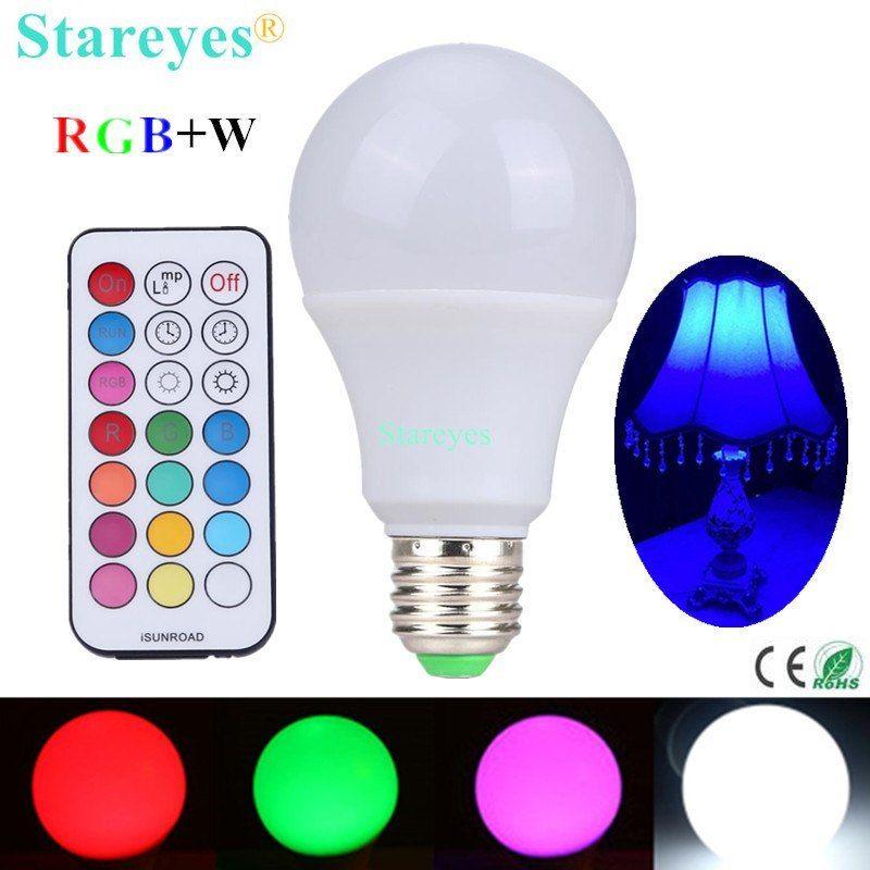 unidades RGBW Comprar LED W E27 bombilla 1 10 bombilla VSUzMqp