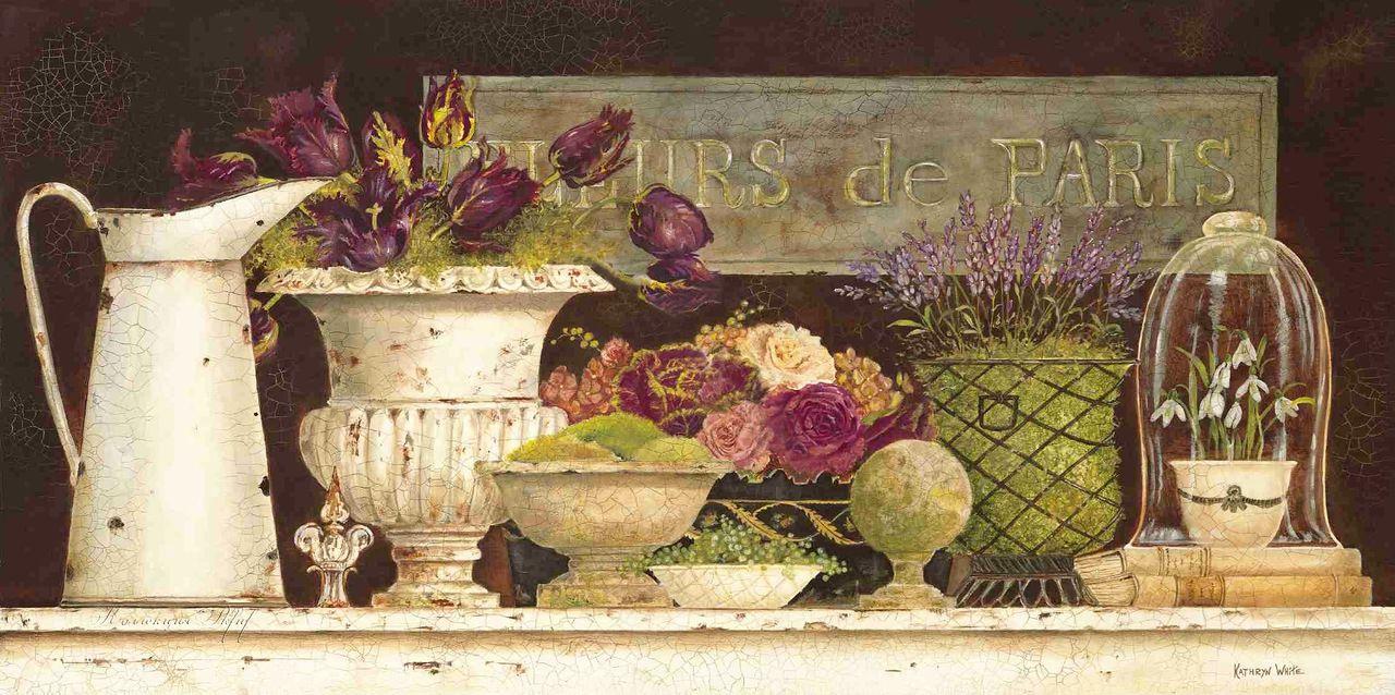 Kathryn White Fleurs de Paris.  I have this one.