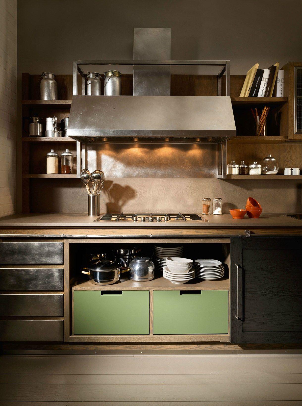 Cucina stile industrial chic idee per la casa nel 2019 pinterest - Cucine industrial chic ...