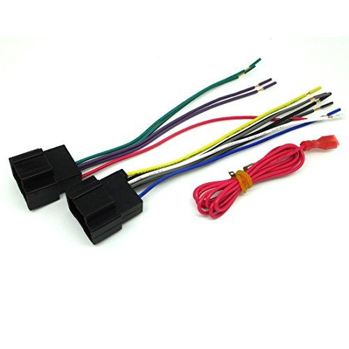 conpus gm car stereo cd player wiring harness wire aftermarket radio rh pinterest com