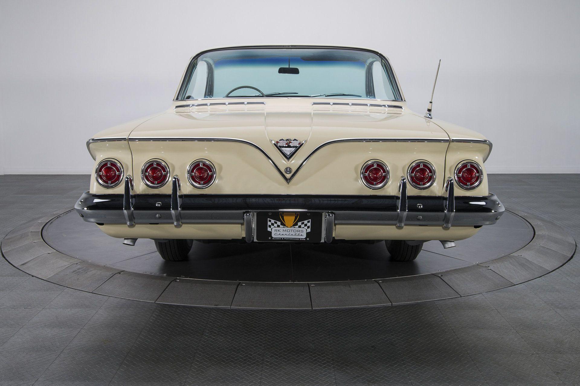 1961 Chevrolet Impala 55 659 Actual Mile California Impala Bubbletop 348 V8 4 Speed Factory A C Chevrolet Impala Chevy Impala Impala