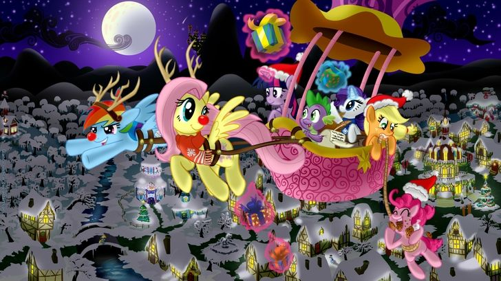 My Little Pony Christmas.My Little Pony Christmas Category Holiday Hd