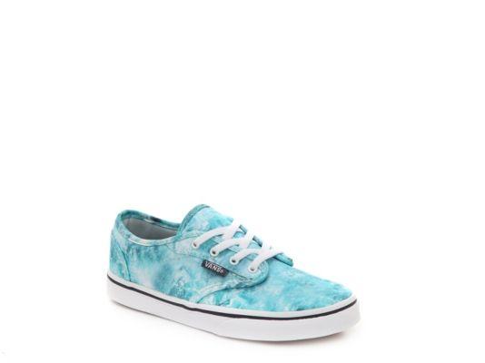 81ae0ebfc9 Women s Vans Atwood Low Ocean Girls Toddler   Youth Sneaker - Blue ...