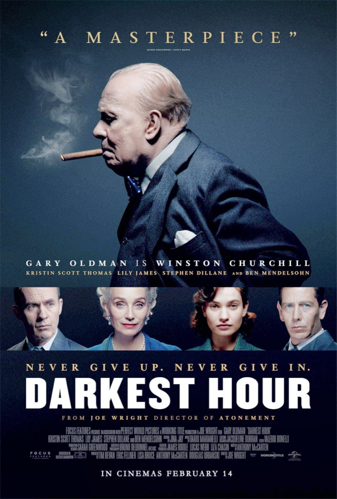 Darkest Hour     2017 | Movie Posters in 2019 | Oscar movies
