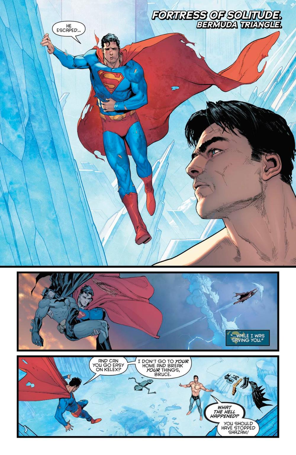 SUPERMAN-BLUE BREAK