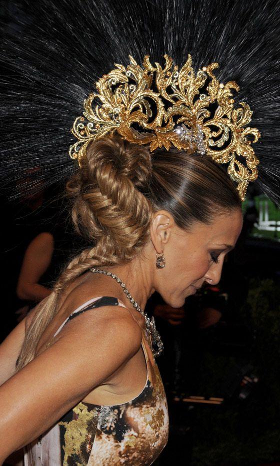 Sarah Jessica Parker At The Met Gala, 2013 LOVE THIS HAIR!!