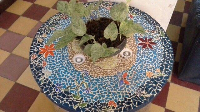 Mesa....tecnica mosaico