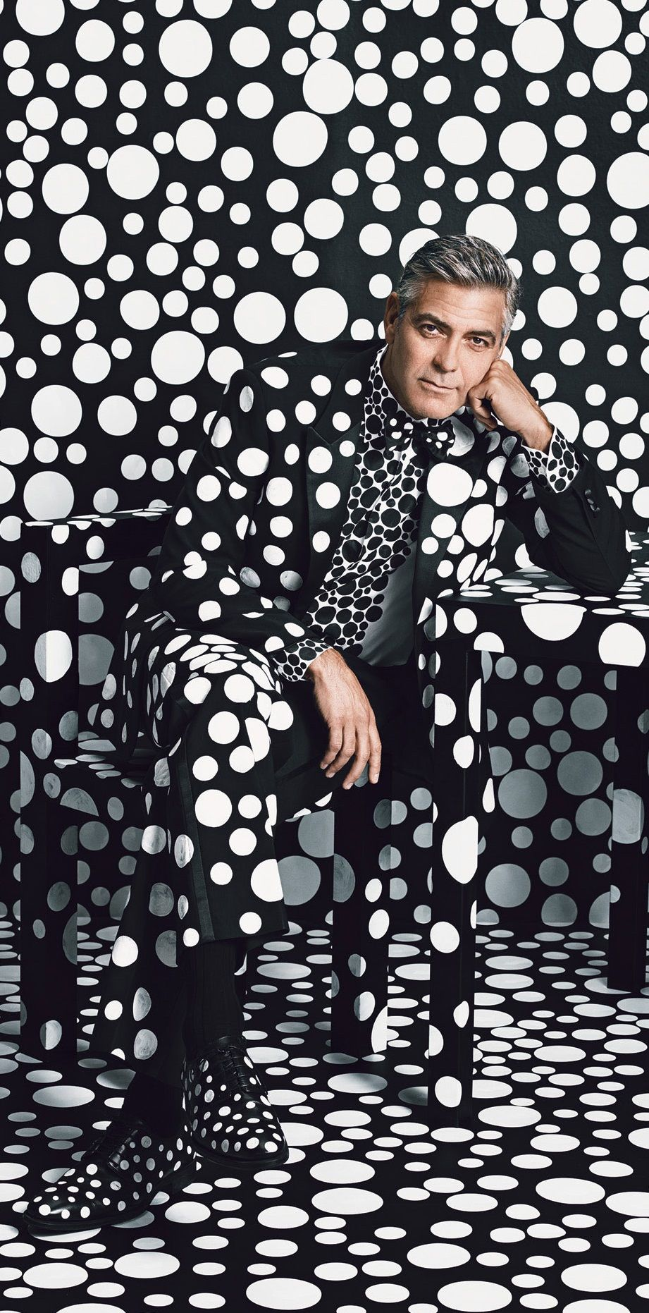 29aaec7980f0 George Clooney W Magazine January 2014 Issue