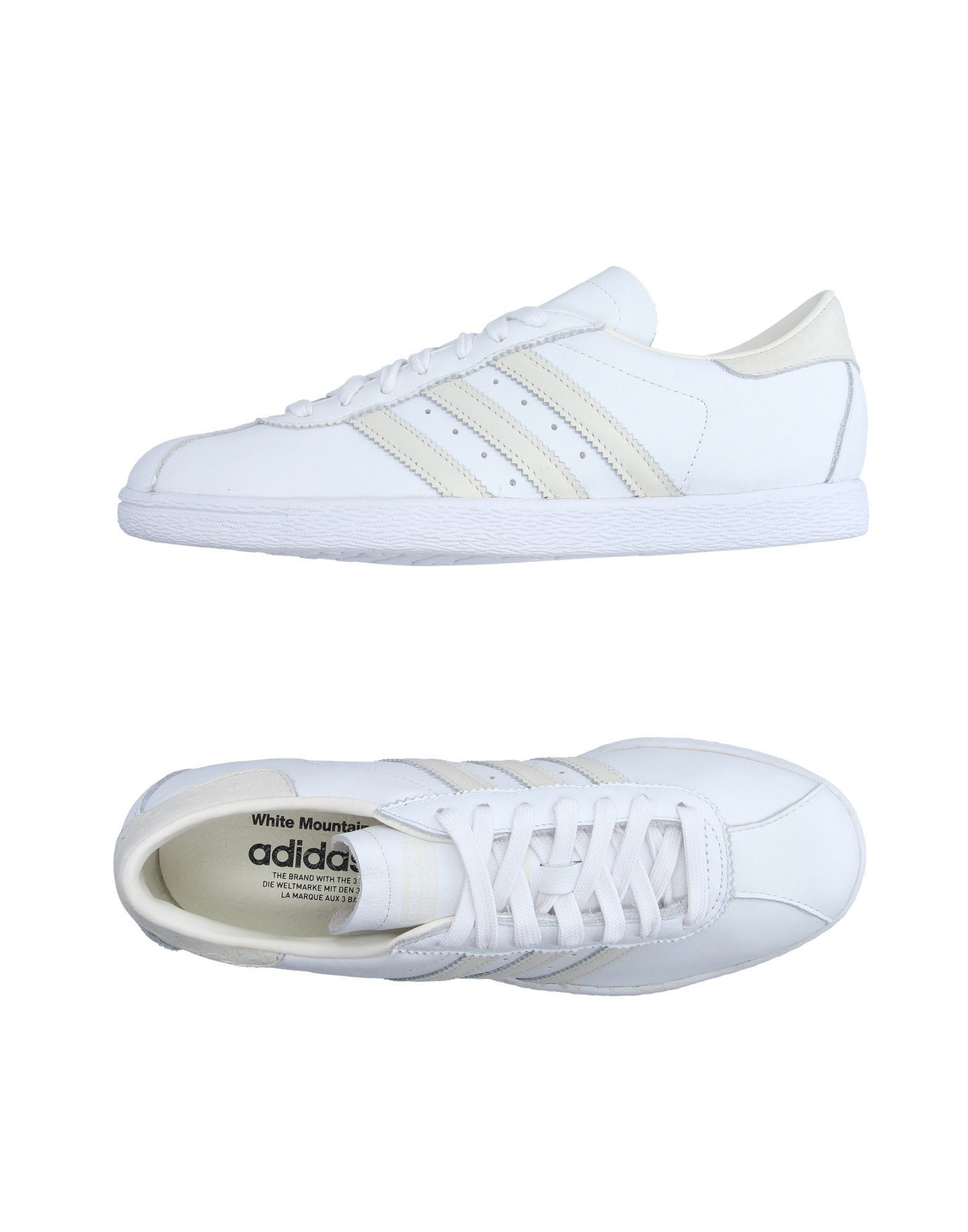 Adidas Originals En Montagne Blanc Bas-tops Et Chaussures De Sport rqWyCnX