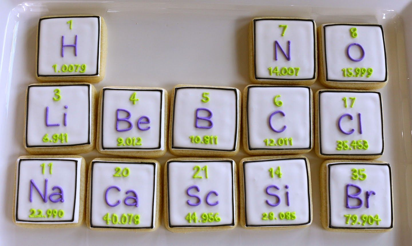 Periodic table cookies chemistry periodic tableetc pinte periodic table cookies more urtaz Image collections