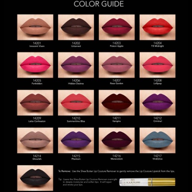 LA Splash Cosmetics - Lip Couture. Liquid to Matte lipsticks.... #MakeupIdeas #BeatFace #ILoveMAKEUP #SoSexy #XOXO