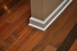 How To Install Baseboard And Shoe Molding For Hardwood Floors Home