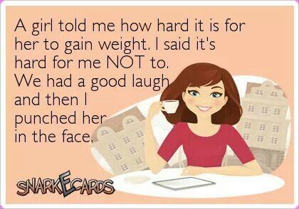 What? I burned a few calories when I did it. :D
