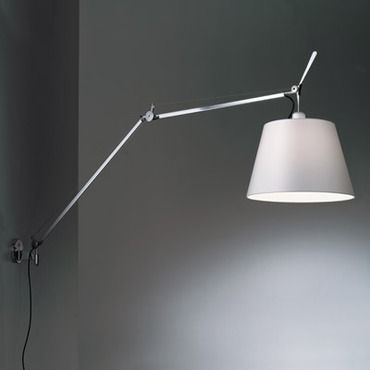 Tolomeo Mega Wall Light With Diffuser By Artemide Tlm1101 Wall Lights Wall Sconce Lighting Lamp