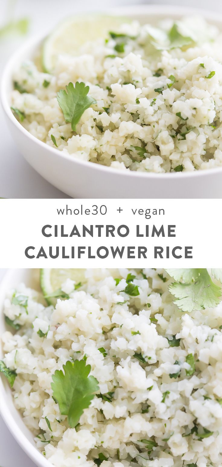 This cilantro lime cauliflower rice is a simple 5 minute side dish recipe that's... - #2018 #Cauliflower #CheeseScones #Chicken #Chips #cilantro #dish #Lime #minute #Products #Quick #Recipe #recipes #rice #side #Simple #SpringRolls #style #chickensidedishes
