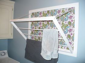 Creative Thriftiness: The most AWESOME drying rack!