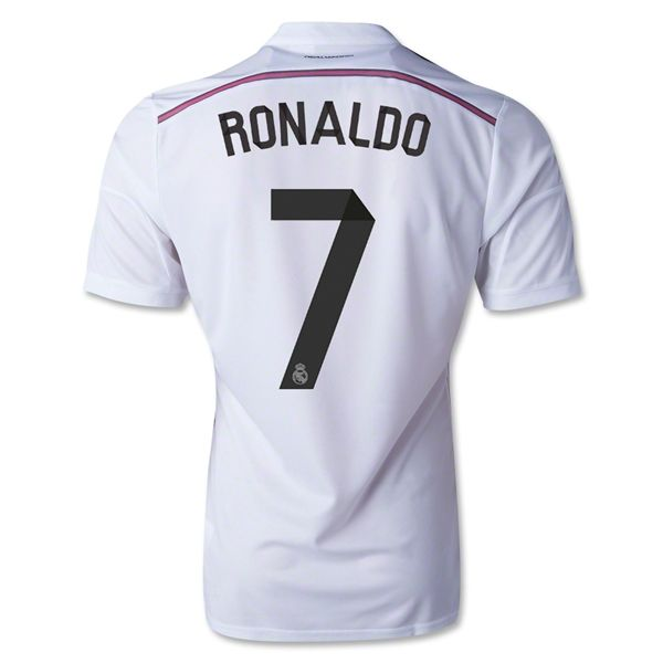 Maillot Real Madrid 2014-2015 RONALDO 7 Domicile pas cher