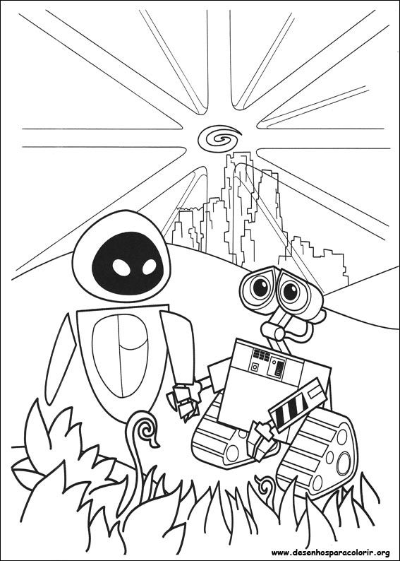 Wall E Online Coloring Pages Printable Book For Kids 73